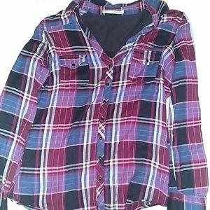 Like New Maurices Flannel Large